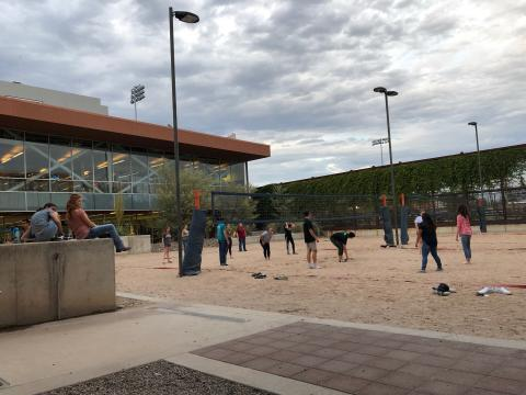 Beach Volleyball at the Rec Center