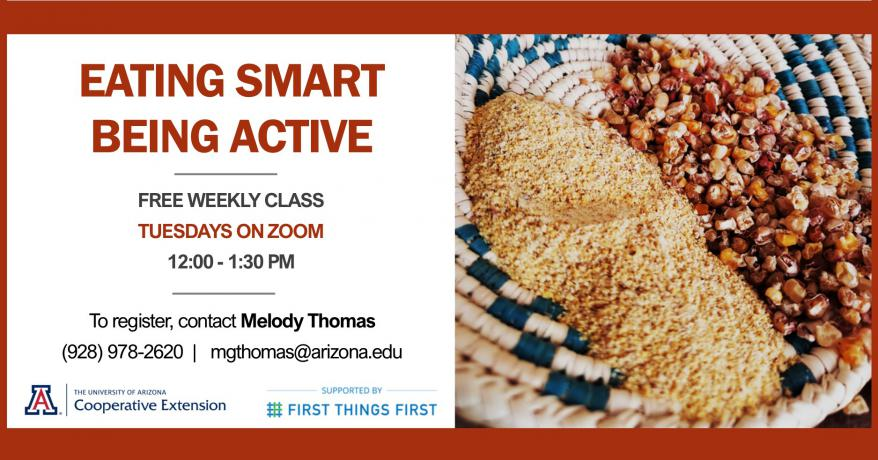 Eating Smart Being Active Free Class Flyer
